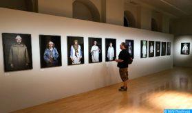 Hayat Saidi aux cimaises de l'exposition internationale «L'Art Refait Surface» à Milan