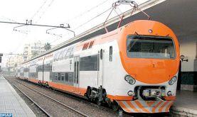 ONCF : Modification à partir de mardi de la fréquence des trains reliant Casablanca et l'aéroport Mohammed V