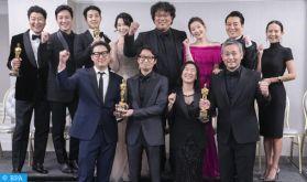 """Le film Sud-coréen """"Parasite"""" remporte quatre Oscars"""