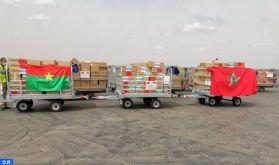 Covid-19 : Arrivée à Ouagadougou de l'aide médicale marocaine destinée au Burkina Faso