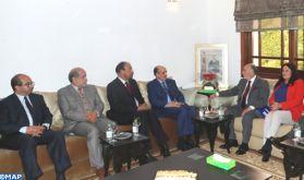 La question du Sahara au centre des entretiens entre M. Ould Rachid et des responsables du Chili et du Panama