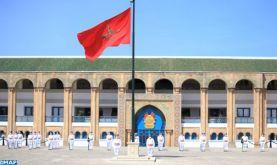 La caserne de la Garde Royale à Rabat organise une cérémonie à l'occasion du 65ème anniversaire de la création des FAR