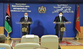 """M. Bourita réaffirme la conviction du Maroc que """"la solution de la crise en Libye ne peut être que libyenne et pour les libyens"""""""
