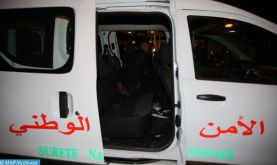 Nador: Interpellation de sept personnes pour escroquerie, enlèvement, séquestration et demande de rançon (DGSN)