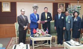Le président du Sénat thaïlandais plaide le renforcement de la coopération Maroc-Thaïlande