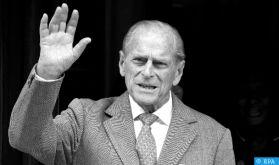 Décès du prince Philip, époux de la reine Elizabeth II (palais de Buckingham)
