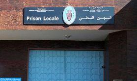 La cellule du détenu S.R. a fait l'objet de fouilles dans le respect des dispositions en vigueur