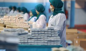 """Le Maroc a su développer """"une capacité impressionnante"""" dans le production rapide des masques"""
