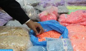 Laâyoune: mise en échec d'une tentative de trafic de 1.500 comprimés psychotropes