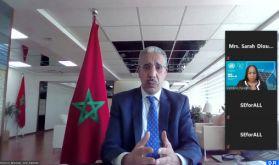 """Rencontres de """"Mission innovation"""" : M. Rabbah s'entretient avec une responsable onusienne"""