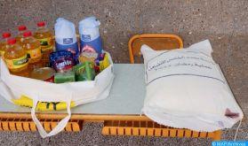 """Laâyoune : Plus de 10.500 bénéficiaires de l'opération de soutien alimentaire """"Ramadan 1442"""""""