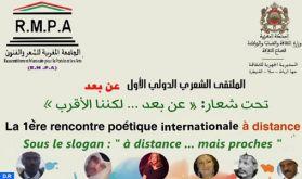 Coronavirus : La 1re rencontre internationale de poésie à distance les 2 et 3 juin prochain