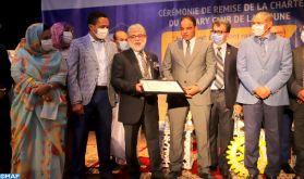 Remise de la Charte du Rotary Club de Laâyoune