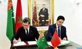 Le Maroc et le Turkménistan signent trois accords pour le raffermissement de leur coopération bilatérale