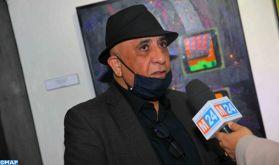 """Casablanca: Vernissage de l'exposition """"Écho…Notations Cosmiques"""" d'Azdine Hachimi Idrissi"""
