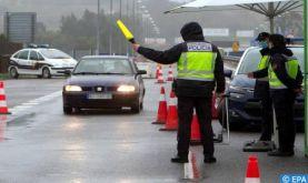 Les mesures restrictives à la frontière hispano-portugaise prolongées jusqu'au 1er mai