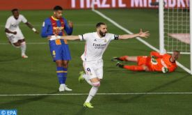 Liga: Real Madrid bat FC Barcelone 2-1 et s'empare du fauteuil de leader