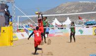 Beach-volley-Tournoi africain qualificatif aux JO (dames): le Maroc bat le Soudan (2-0)