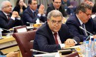 M. Laftit préside à Rabat une réunion consacrée au suivi de l'exécution du Programme de réduction des disparités sociales et territoriales