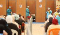 Covid-19: Appel à éviter les centres de vaccination à grande affluence